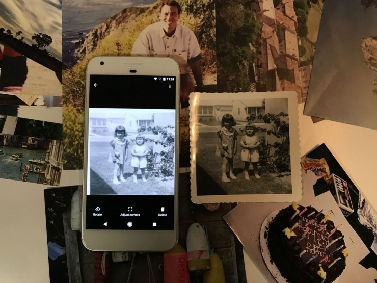 Google 發表 PhotoScan 應用軟體,手機可輕鬆掃描照片