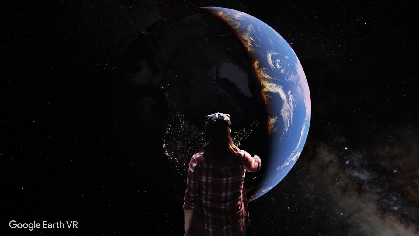 Google Earth VR 版上架,搭配 HTC Vive 效果出眾但讓人頭暈