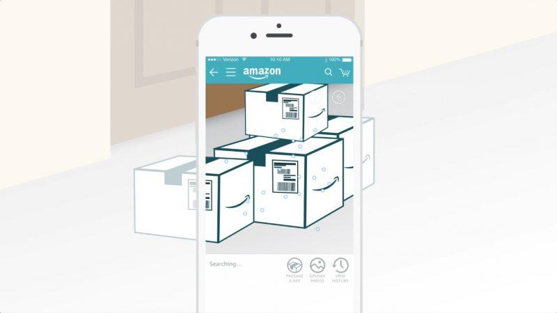 亞馬遜推出「手機 X 光」功能,不用拆箱就能透視包裹內容物