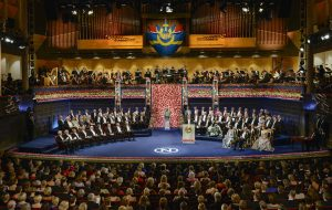 Sweden Nobel Prize Ceremony 2016