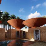 為了收集雨水,這種碗狀凹面屋頂在伊朗誕生了