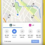 Google 地圖更新整合共享車輛叫車功能