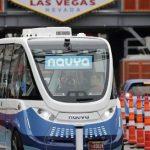 無人駕駛巴士進入拉斯維加斯,進行首次載客測試