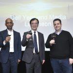 (左) 圖_戴爾台灣電腦研發部副總裁Kefetew Selassie、戴爾台灣總經理廖仁祥、戴爾台灣研發中心伺服器研發部副總裁Edward Yardumian