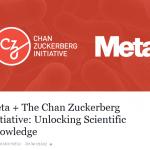 Chan Zuckerberg Initiative 的第一筆收購是科研搜尋引擎 Meta,促進跨域知識交流
