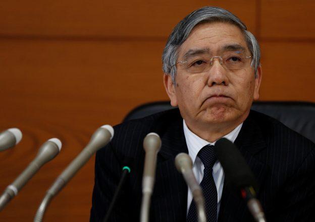 圖片來源:《達志影像》 圖片取自路透社 Bank of Japan (BOJ) Governor Haruhiko Kuroda attends a news conference at the BOJ headquarters in Tokyo, Japan January 31, 2017.   REUTERS/Toru Hanai - RTX2YXL6