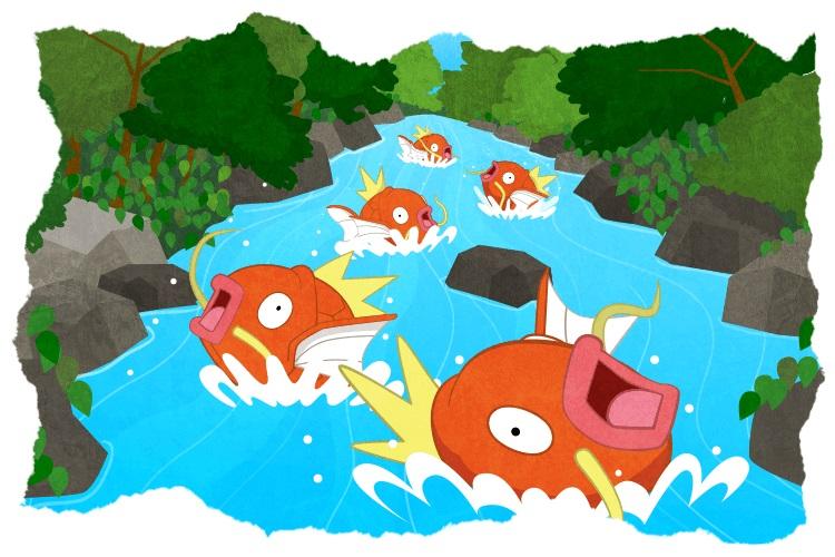 寶可夢又要出新手遊了,這次主角是鯉魚王