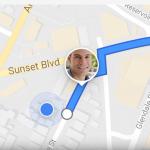 Google 地圖新功能,可以跟親戚好友即時分享位置