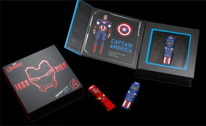 美國隊長攜手鋼鐵人,保護你的資料安全 TOPMORE 漫威指紋辨識碟