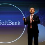 下載自路透 SoftBank Group Corp Chairman and CEO Masayoshi Son attends a news conference in Tokyo, Japan, February 8, 2017.    REUTERS/Toru Hanai - RTX303ZW