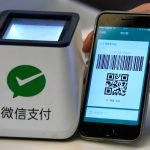 下載自路透 A WeChat Pay system is demonstrated at a canteen as part of Tencent office inside TIT Creativity Industry Zone in Guangzhou, China May 9, 2017. Picture taken May 9, 2017.     REUTERS/Bobby Yip - RTX36IDO