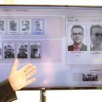 下載自路透社 The German Bar Association presents facial recognition technology during a presser in Berlin, Germany, August 1, 2017. REUTERS/Hannibal Hanschke - RTS19YJZ