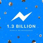 Facebook Messenger 月活躍用戶數破 13 億大關,成長幅度放緩