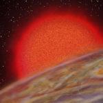 夏威夷大學天文研究所 Gas giant planet, K2-132b, with a 9 day orbit, expands as its star evolves into a red giant. MORE: Despite more than 20 years since the discovery of the first gas giant planet with an anomalously large radius, the mechanism for planet inflation remains unknown. Here, we report the discovery of K2-132b, an inflated gas giant planet found with the NASA K2 Mission, and a revised mass for another inflated planet, K2-97b. These planets reside on ~9 day orbits around host stars which recently evolved into red giants. We constrain the irradiation history of these planets using models constrained by asteroseismology and Keck/HIRES spectroscopy and radial velocity measurements. We measure planet radii of 1.31 +- 0.11 Rjup and and 1.30 +- 0.07 Rjup, respectively. These radii are typical for planets receiving the current irradiation, but not the former, zero age main sequence irradiation of these planets. This suggests that the current sizes of these planets are directly correlated to their current irradiation. Published in the Astronomical Journal, November 27,2017. Article by Sam Grunblatt (skg3@hawaii.edu)