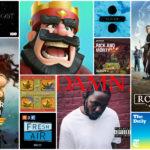 蘋果發表 2017 年度精選,熱門 Apps、音樂、電影上榜
