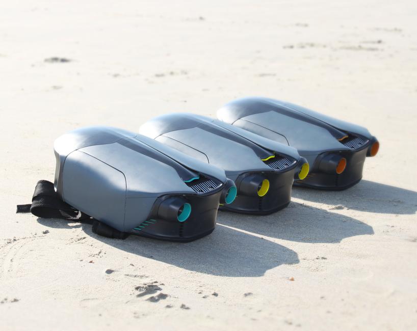 運用 3D 列印技術,英國大學生製作出全球首款水下噴射背包