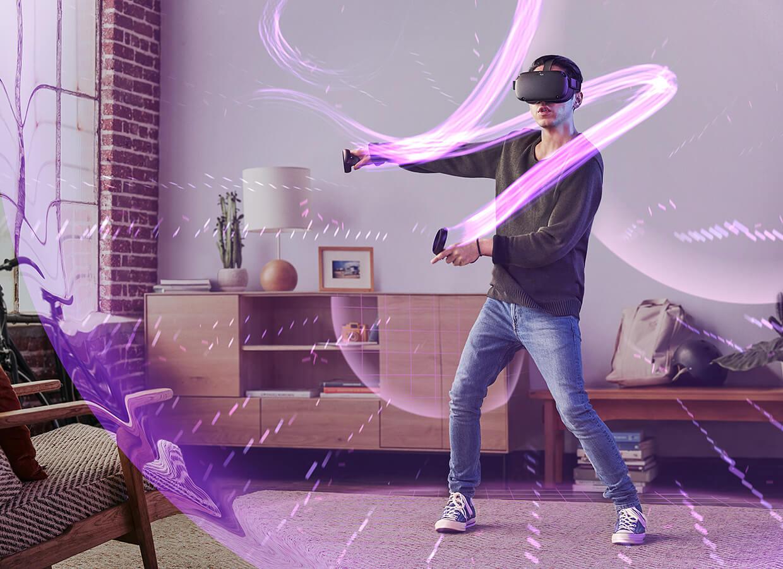 真正無線頭戴式 VR 裝置 Oculus Quest 發表,2019 年初上市售 399 美元