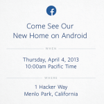 Facebook 將發表自有 Android 手機
