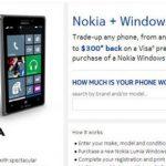 Nokia推以舊換新,可用iPhone換Lumia