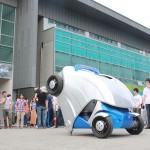 韓國科學技術院開發折疊車