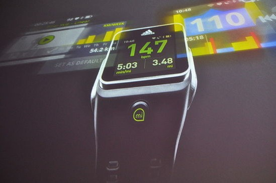Adidas 推出智慧型手錶 miCoach 售價 399 美元