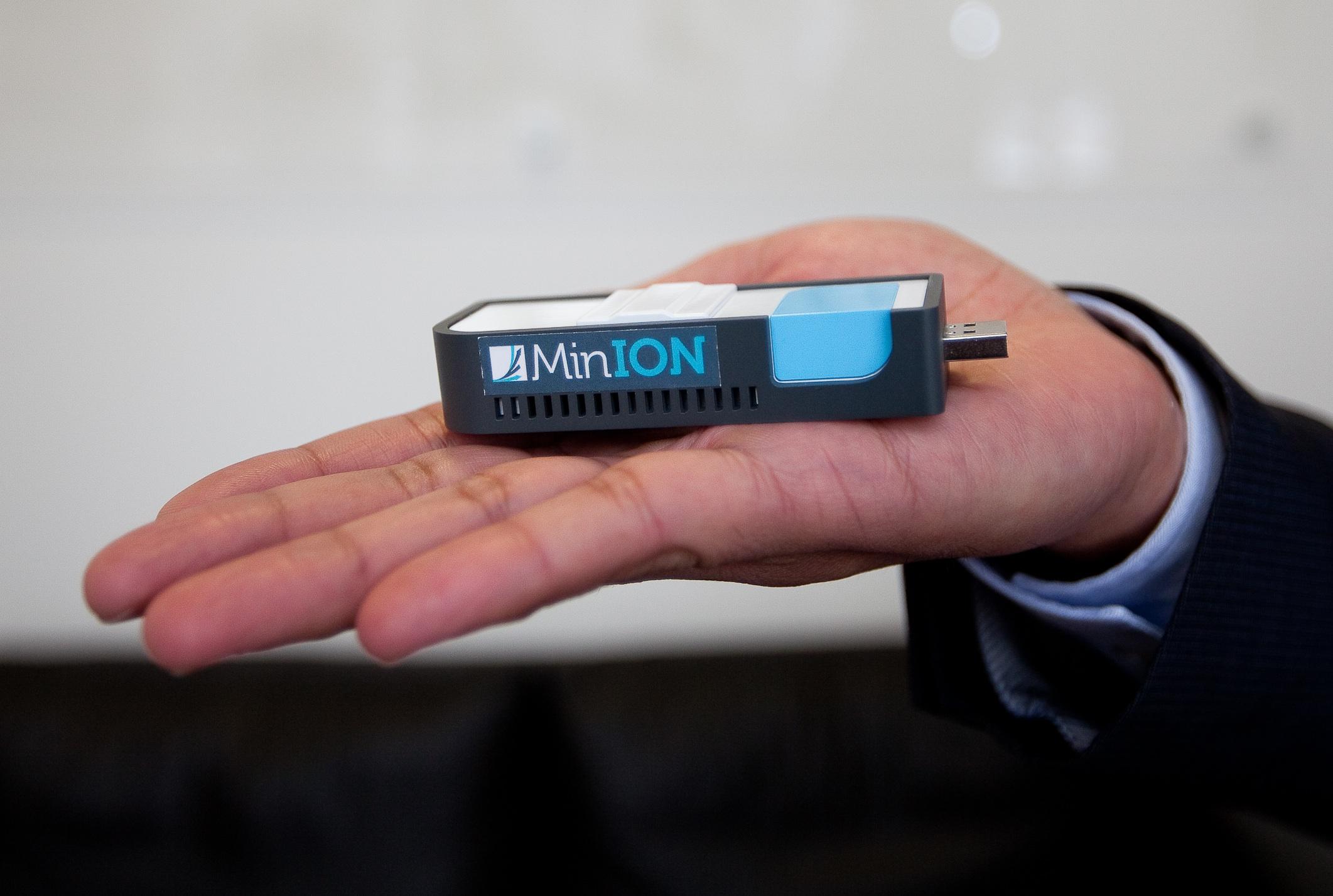 用隨身碟做 DNA 定序 每支不到3萬台幣