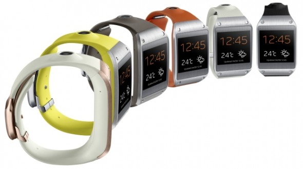三星智慧型手錶  Samsung Galaxy Gear,銷量只有少少的50000支