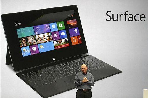 微軟Q3財報:Surface銷量倍數成長