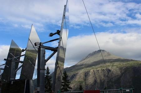 挪威小鎮打造巨大反光鏡迎接陽光