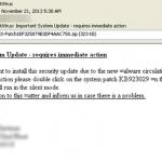 假「防毒軟體升級提醒」信件 暗藏危機!