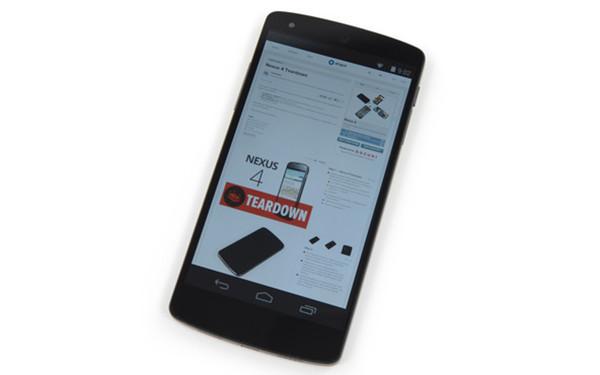 Nexus 5 拆解:好拆也好修,除了螢幕