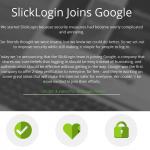 Google 收購成立不到兩個月的新創公司 SlickLogin