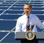 白宮設置新太陽能電池,同時宣佈新太陽能計畫