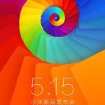 小米 5 月 15 日新品發表會 3s 智慧型手機即將到來