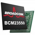 博通推出業界第一個整合全球導航晶片與感測器中樞的組合晶片