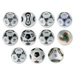 世界盃專用球進化史:從黑白到多彩,都是科技的結晶