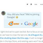 Google 收購再加一筆,傳訊軟體 emu 加入陣營