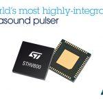 意法半導體推出世界最小的高整合度 8 通道超音波脈衝產生器,有效簡化超音波設備設計