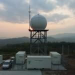 國研院颱洪中心研究極端天氣現象,建置山區降雨研究雷達