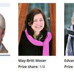 諾貝爾生醫獎頒給發現大腦 GPS 功能三科學家