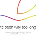 第二場蘋果發表會 10 月 16 日登場,預計發表新款 iPad 和 Mac