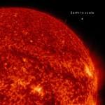 比地球直徑大 125 倍的太陽絲狀體現身