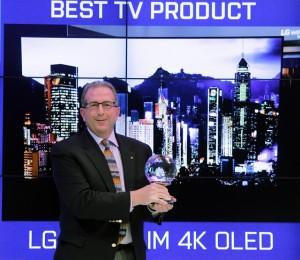 LG Art Slim 4K OLED TV Engadget CES 2015