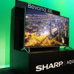 4K 電視不夠看!夏普發表「超 4K」產品、今年開賣