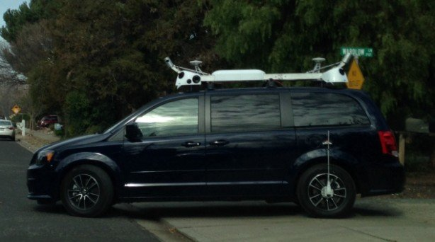 strange van spot around Bay area with LiDAR