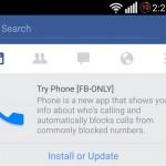 Facebook 測試來電封鎖 App《Phone》?