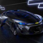 雪佛蘭自動駕駛概念車亮相,科幻造型展現獨特魅力