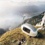 自給自足的綠能小屋 Ecocapsule,上山下海遨遊世界
