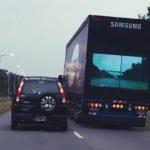 三星面板用不完?最新計畫要讓大卡車變透明