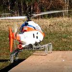 直升機長腳?美 DARPA 研發可隨地起降的摺疊式機械支架